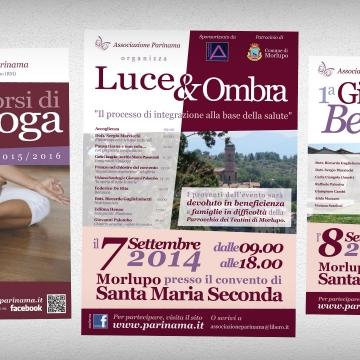 Yoga Advertising for Parinama  - by Federico Gomato