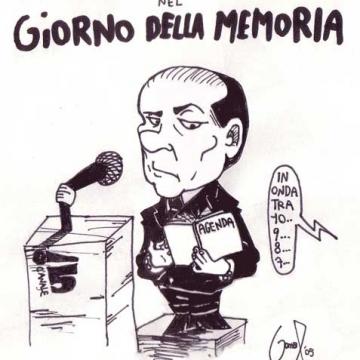 """Silvio Berlusconi ne: """"il Giorno della Memoria""""!"""