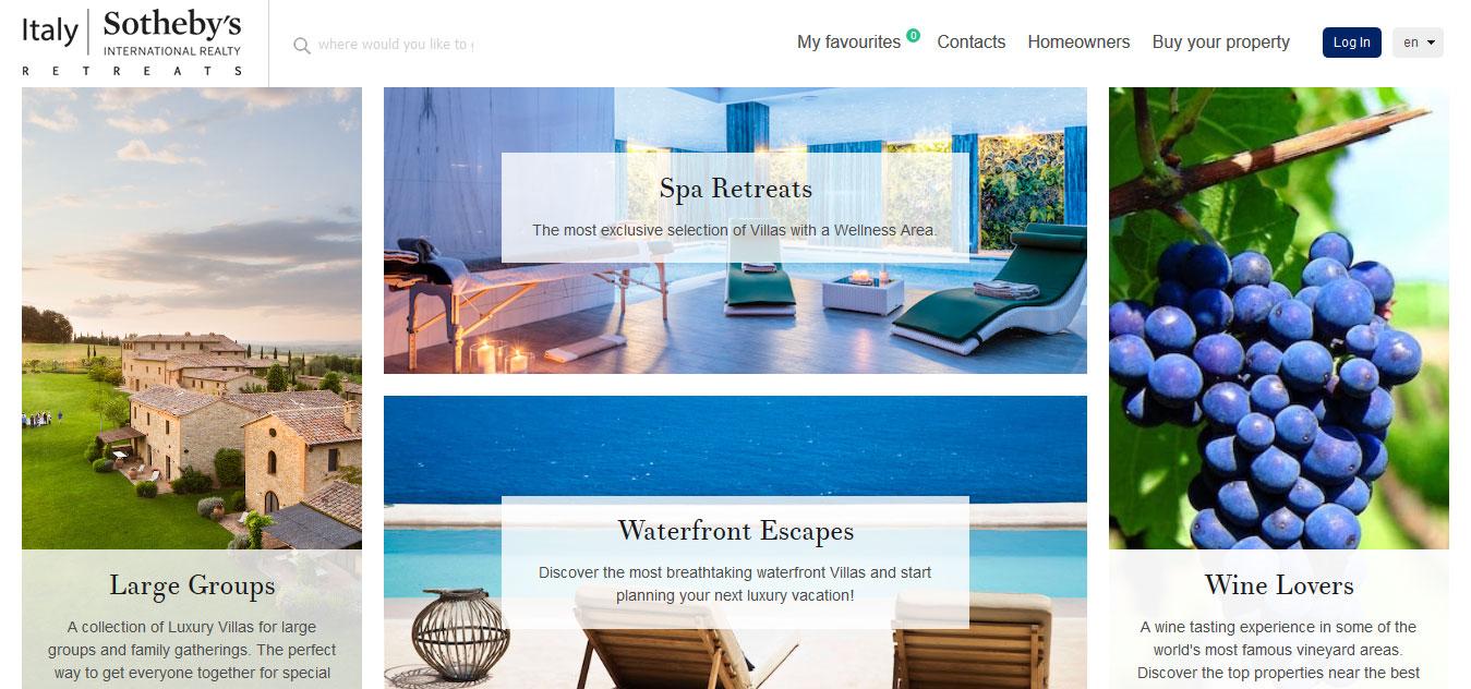 Sothebys' Italy Reteats