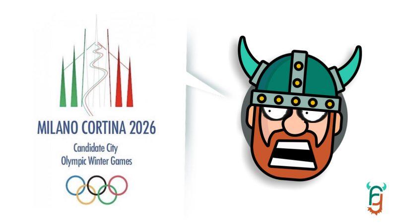 Logo Olimpiadi 2026 Milano/Cortina:<br/>Il Restyle si farà